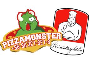 Pizzamonster - Monster pizza - Prémium Pizza - Online rendelés